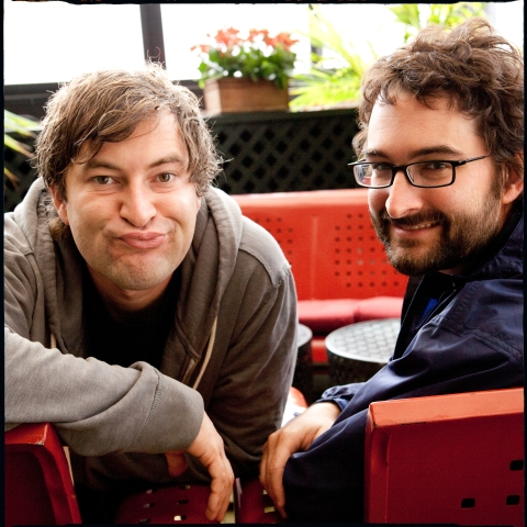 Mark and Jay Duplass by Leslie Hassler