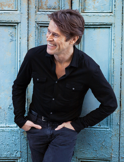 Portrait of Willem Dafoe by Leslie Hassler