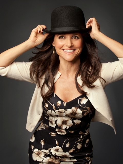 Julia Louis Dreyfus by Leslie Hassler